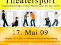 Theatersport AGH - Plakat